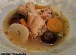 鶏手羽元と野菜のポトフ風煮込み