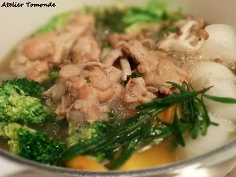 ありあわせの野菜でポトフ風の煮込みを作る