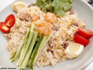 タイの炒飯 カオパット
